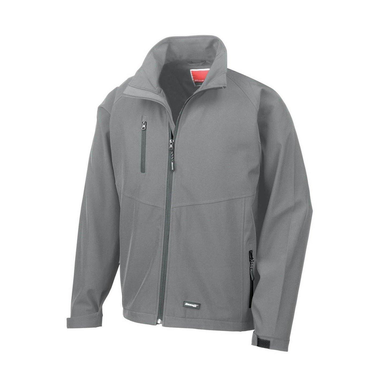 Куртки спортивные мужские Result Mens 2 Layer Base Softshell Breathable Wind Resistant Jacket
