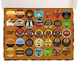 Coffee Only Deluxe Variety Pack for Keurig K-Cup Brewers, 70 Count