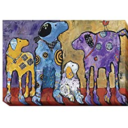 Cast of Characters by Jenny Foster Premium Gallery-Wrapped Canvas Giclee Art (Ready-to-Hang)