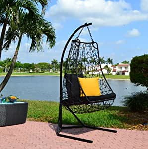contemporary outdoor swing chair anjuna