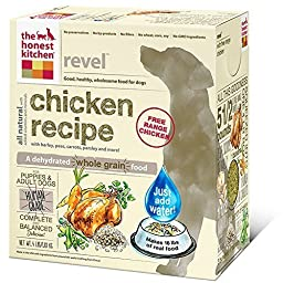 The Honest Kitchen Revel Chicken and Whole Grain Dog Food, 4-Pound by The Honest Kitchen