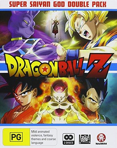 Dragon Ball Z: Super Saiyan God Double Pack [Blu-ray]