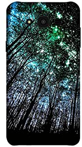 The Racoon Grip printed designer hard back mobile phone case cover for Samsung Galaxy J7. (Night Full)