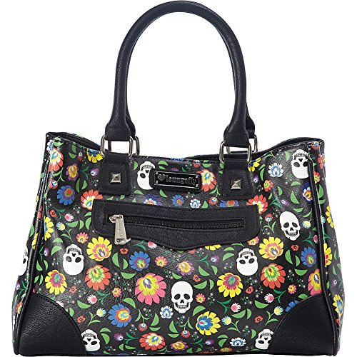 loungefly-floral-white-skull-print-tote-black-multi