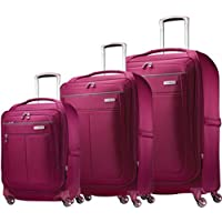 Samsonite MIGHTlight Luggage Nested Spinner Set (Berry)