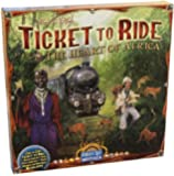Ticket to Ride Map Collection Board Game: The Heart of Africa, Volume #3