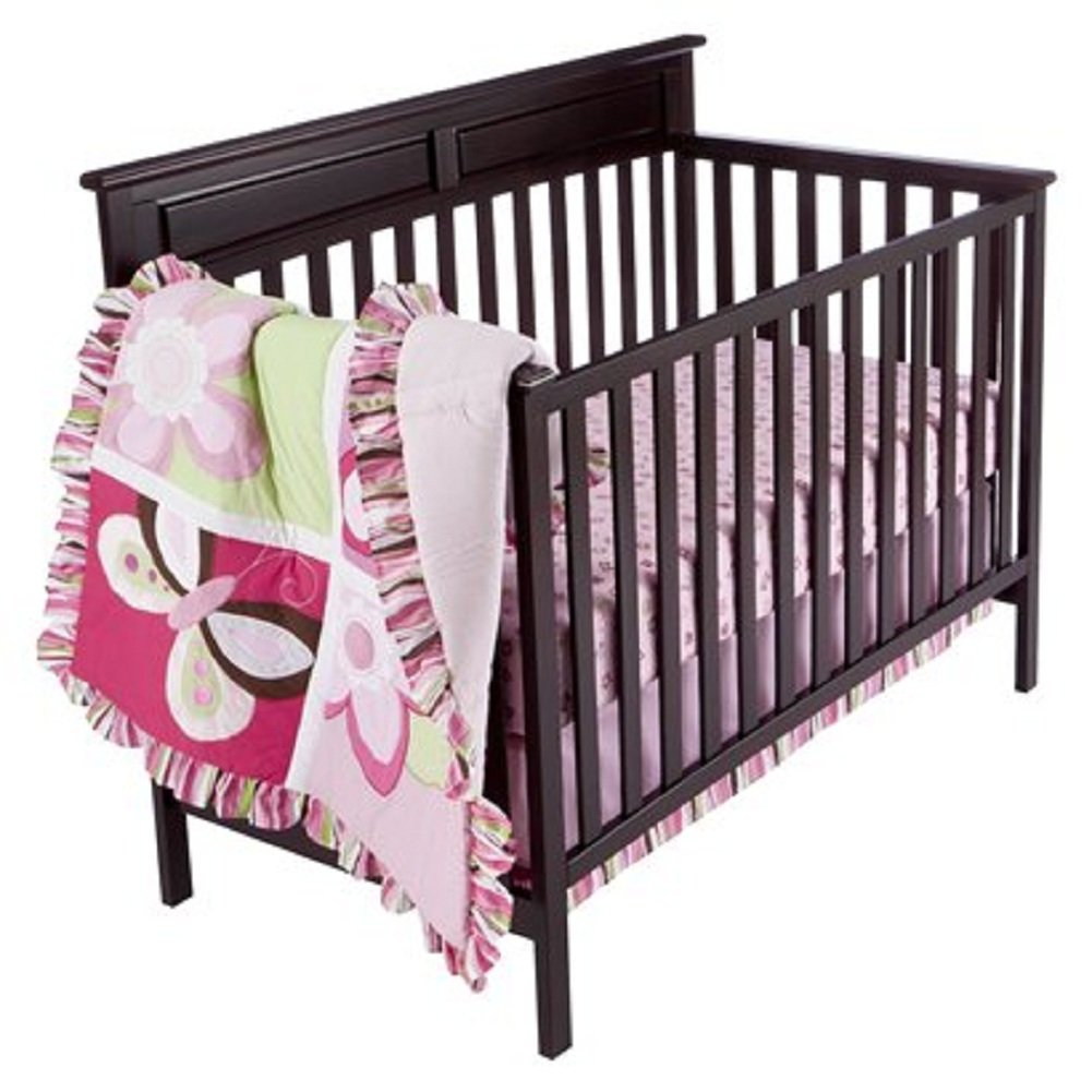 Tiddliwinks Raspberry Garden Baby Bedding