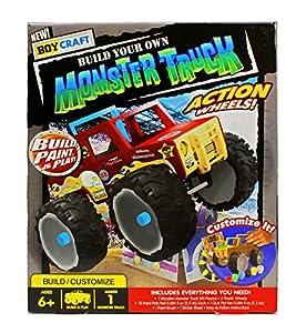 boy craft make your own monster truck toys. Black Bedroom Furniture Sets. Home Design Ideas