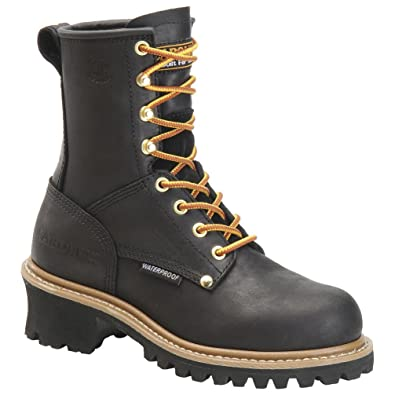 Carolina Womens Steel Toe Waterproof Logger Boot