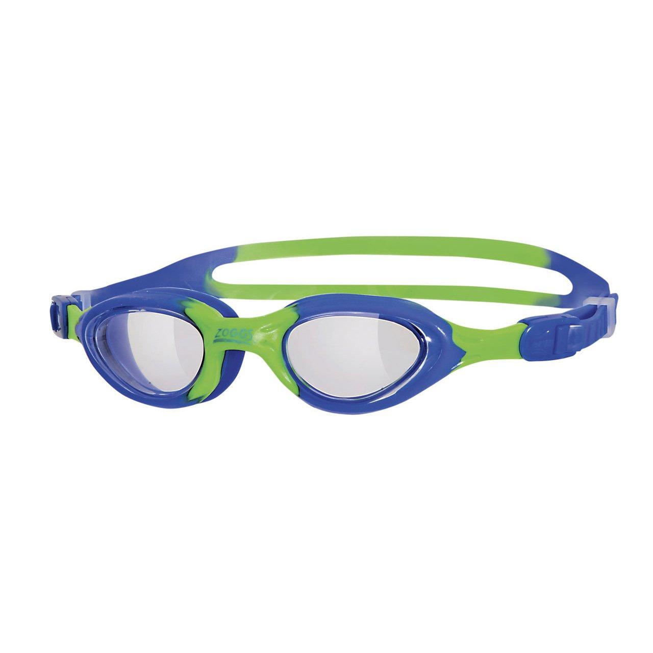 ba8d7da0eb1 Zoggs Kids Little Super Seal Swim Goggles with UV Protection - Blue Green
