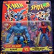 X-Men VS. Spider-Man Exclusive Collector's Edition 2-Pack: Beast VS. Spider-Man (Web-Shooter)