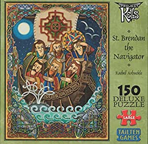 St. Brendan the Navigator 150-pc Deluxe Jigsaw Puzzle