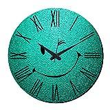 MeSleep Wink Wall Clock With Glass Top