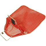 New Trident Mesh Game Bag with Wire Handle & D-Ring for Scuba Divers & Snorkelers (15 x 20 Inches)