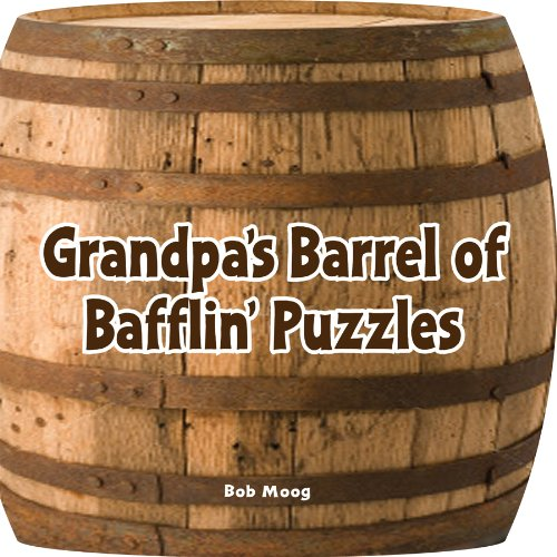 Spinner Books for Adults Grandpa's Barrel of Bafflin' Puzzlers Armchair Puzzlers