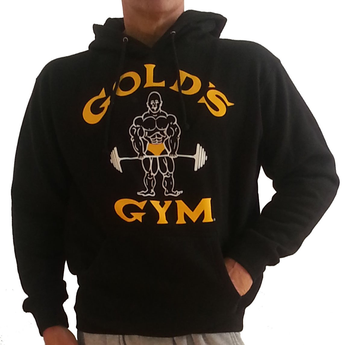 Golds Gym Sweatshirt Hoodie XL Weightlifting logo | eBay