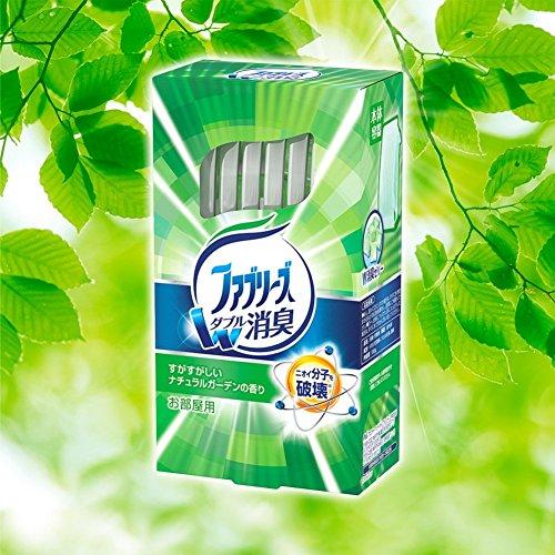 ファブリーズ 消臭芳香剤 お部屋用 置き型 すがすがしいナチュラルガーデンの香り 付替用 130g