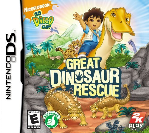Go, Diego, Go!: Great Dinosaur Rescue - Nintendo Ds front-669016