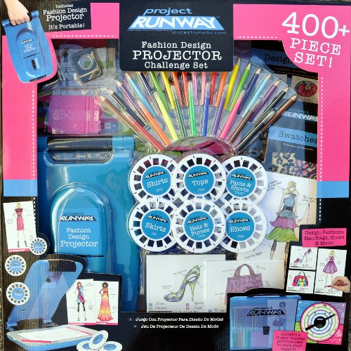 Project Runway Fashion Design Projector Set - Fashion Angels