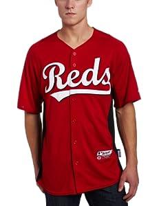 Majestic Mens Cincinnati Reds Replica Generic Cool Base Jersey by Majestic