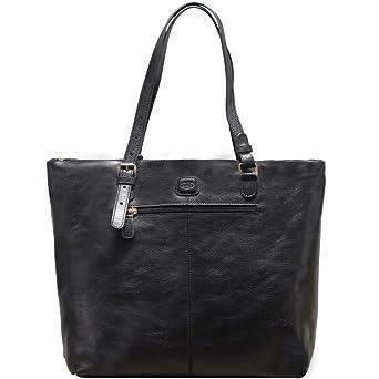f0dd26e5368ca Bezug Angebote mit zu haben erhalten Bric´s Life Pelle Shopper Leder 33 cm  black. Sie können beobachten Informationen