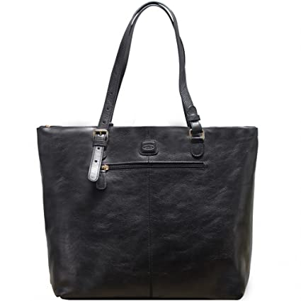 8bf0182d25b79 hot hot hot Sale Bric´s Life Pelle Shopper Leder 33 cm black ...