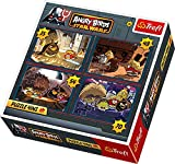 Trefl, Angry Birds - Star Wars, Puzzle/Jigsaws - 4 in 1 - 35, 48, 54,70 elements