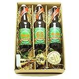 Bier Geschenk zum 65.Geburtstag Geburtstagsgeschenk fünfundsechszigster Geburtstag Präsentkarton mit Bier und Pokal zum 65. Geburtstag