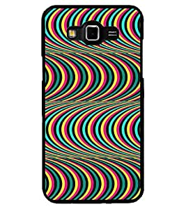 ColourCraft Colourful Pattern Design Back Case Cover for SAMSUNG GALAXY GRAND MAX G720