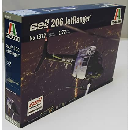 Model Kit - Bell 206 JetRanger - 1:72 Scale