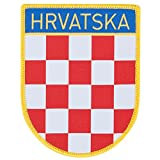 Croatia 1 Embroidery Patch 90mm x 70mm One Size