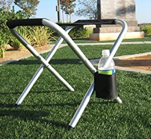 """""""SEASON SPECIAL""""""OASIS Aluminum Lightweight and Yet Durable FOLDING STOOL !!!-HIGH QUALITY PRODUCT-10 YEARS WARRANTY-A BONUS SOLAR RECHARGEABLE LED FLASHLIGHT INCLUDED WITH YOUR PURCHASE...."