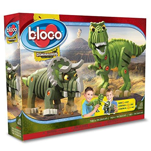 【正規代理店品】Bloco Toys ブロック知育玩具 恐竜シリーズ ティラ...