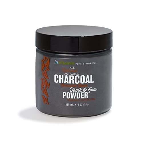 Natural Tooth & Gum Powder with Activated Charcoal, 2.75oz