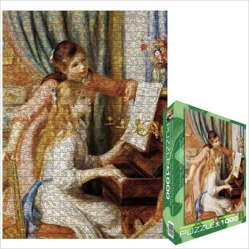 Cheap Eurographics Girls At the Piano 1000 Piece Jigsaw Puzzle Eurographics (B0039ZAMVK)