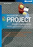 Microsoft Office Project pour l'entre...