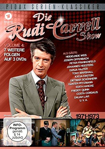Die Rudi Carrell Show, Vol. 4 / Weitere sieben Folgen der beliebten Unterhaltungs-Show mit vielen Stars von 1971 - 1973 (Pidax Serien-Klassiker) [3 DVDs]
