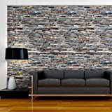 WALLPAPER XXL PHOTO WALL MURAL BRICK STONES SANDSTONE 455x254 cm 1603-21 ! Free glue for each wallpaper !