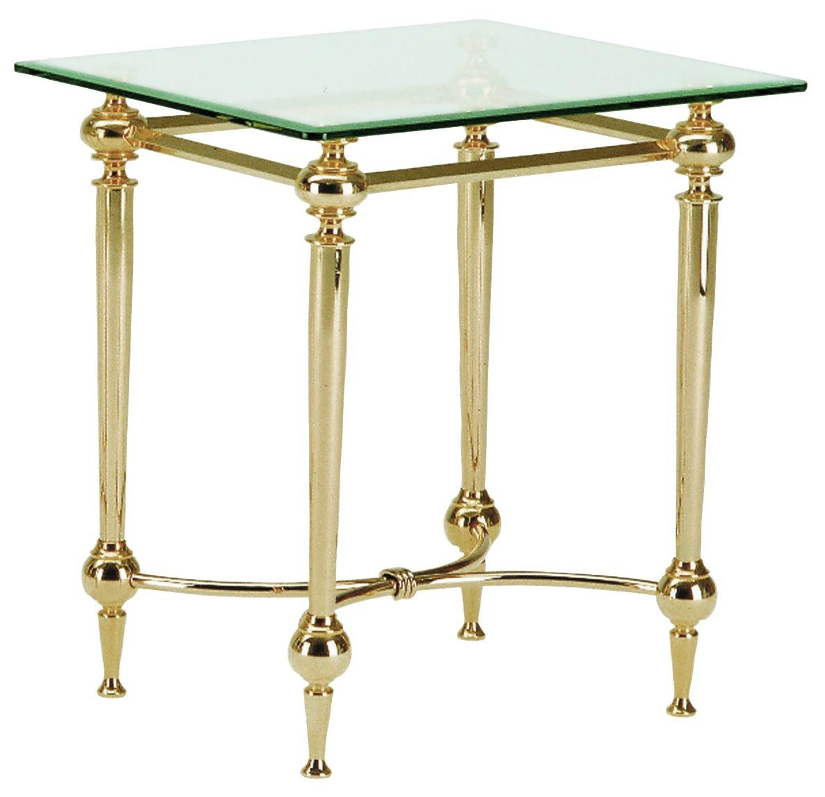 HAKU Möbel 47143 Beistelltisch 50 x 43 x 53 cm, vergoldet  Bewertungen und Beschreibung
