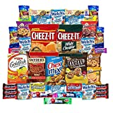 Cookies Chips & Candies Care Package Variety Pack Bundle Assortment Bulk Sampler (40 Count)