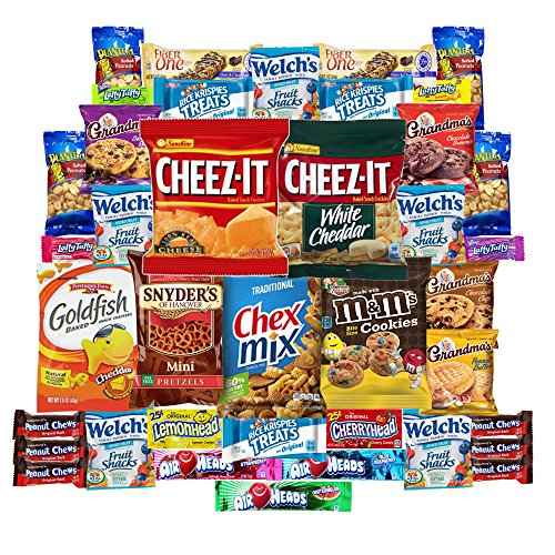 cookies-chips-candies-snacks-care-package-variety-pack-bundle-assortment-bulk-sampler-40-count