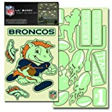 NFL Denver Broncos Lil' Buddy Team Glow Sticker Kit at Amazon.com