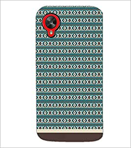 PrintDhaba Tribal pattern D-1758 Back Case Cover for LG GOOGLE NEXUS 5 (Multi-Coloured)