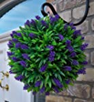 Best Artificial 30cm Purple Lush Lave...