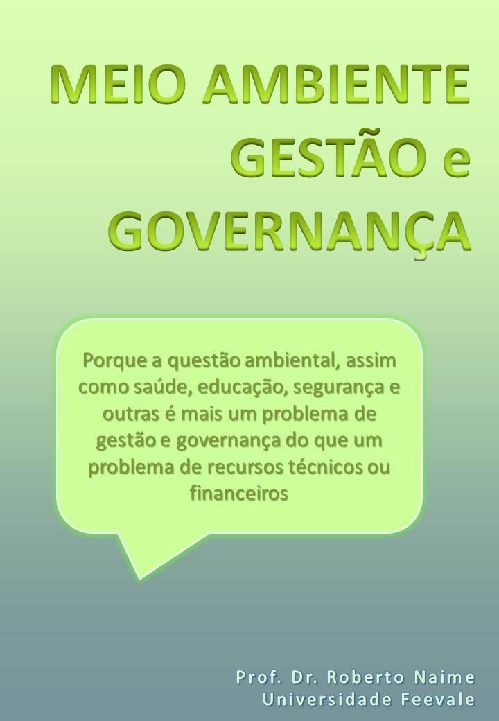meio ambiente, gestão e governança