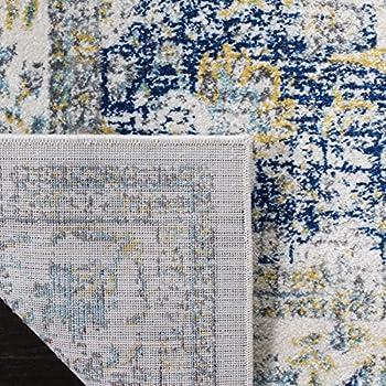 Safavieh Evoke Collection EVK220C Oriental Vintage Ivory and Blue Area Rug (9' x 12')