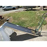 "Aluminum Hand Truck Dollie Ramp Portable 20"" X 60"" Strong"