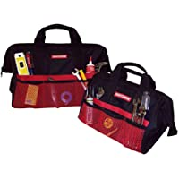 "Craftsman 13"" & 18"" Tool Bag Combo (Black/Red) + $1.34 Sears Credit"