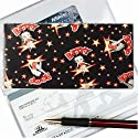 Betty Boop Lenticular Checkbook Cover, BLACK, Changing Image Pattern, Bb-100-cbc
