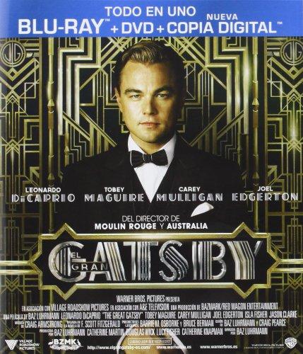 El Gran Gatsby (BD + DVD + Copia Digital) [Blu-ray]